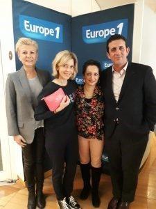Alain Toledano et Isabelle Guyomarch sur Europe 1